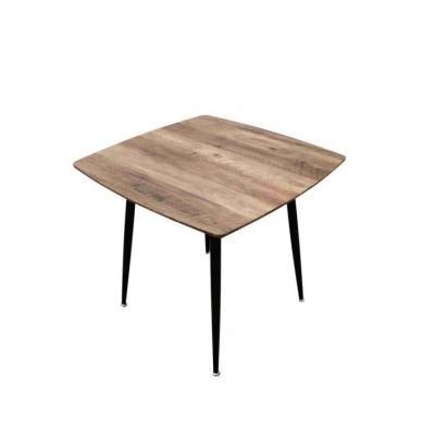 Loft stílusú étkezőasztal, 80 cm - SAN DIEGO